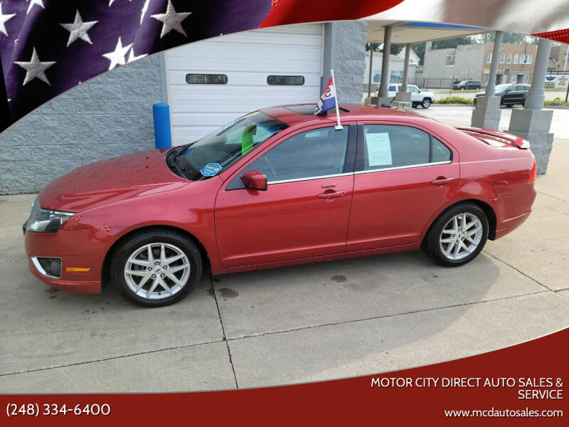 2010 Ford Fusion for sale at Motor City Direct Auto Sales & Service in Pontiac MI