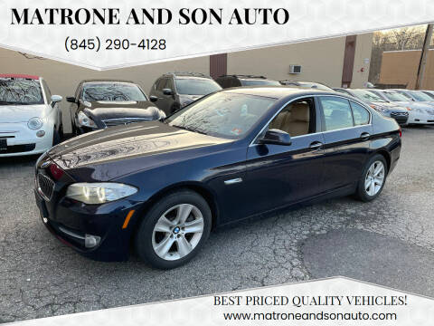 2013 BMW 5 Series for sale at Matrone and Son Auto in Tallman NY
