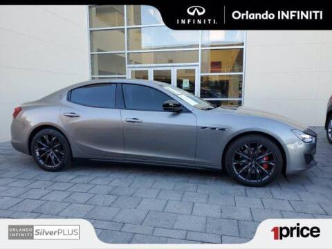 2019 Maserati Ghibli for sale at Orlando Infiniti in Orlando FL