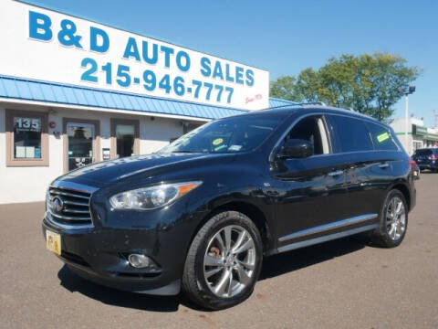 2014 Infiniti QX60 for sale at B & D Auto Sales Inc. in Fairless Hills PA