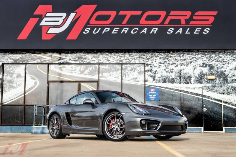 2014 Porsche Cayman for sale at BJ Motors in Tomball TX