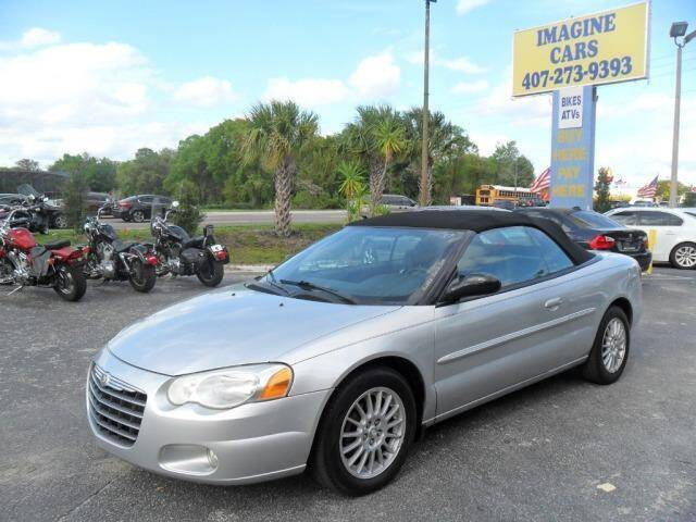 2004 Chrysler Sebring for sale at IMAGINE CARS and MOTORCYCLES in Orlando FL