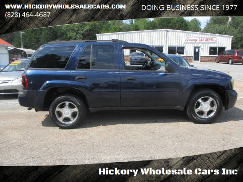 2007 Chevrolet TrailBlazer for sale at Hickory Wholesale Cars Inc in Newton NC