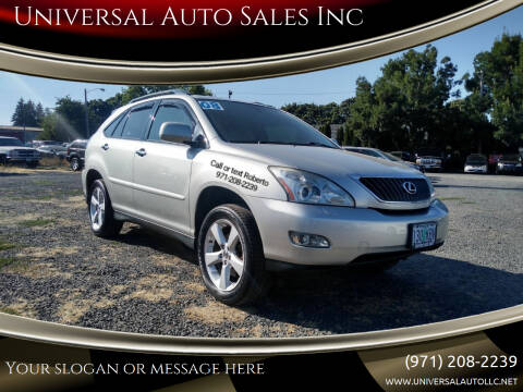 2008 Lexus RX 350 for sale at Universal Auto Sales Inc in Salem OR