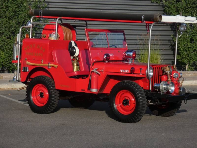1947 Willys CJ-2A for sale at Sun Valley Auto Sales in Hailey ID
