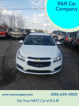 2015 Chevrolet Cruze for sale at R&R Car Company in Mount Clemens MI