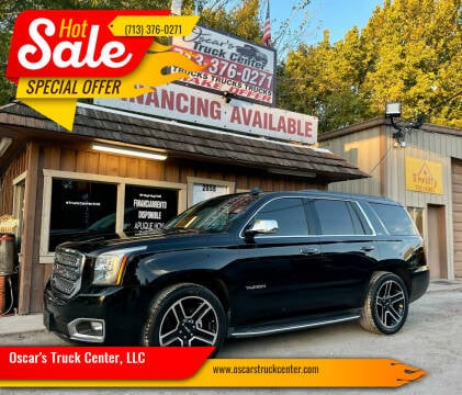 2017 GMC Yukon for sale at Oscar's Truck Center, LLC in Houston TX