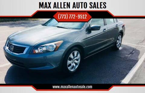 2009 Honda Accord for sale at MAX ALLEN AUTO SALES in Chicago IL