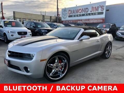 2012 Chevrolet Camaro for sale at Diamond Jim's West Allis in West Allis WI