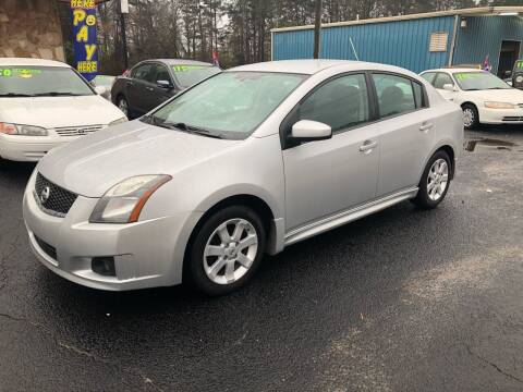 2010 Nissan Sentra for sale at E Motors LLC in Anderson SC