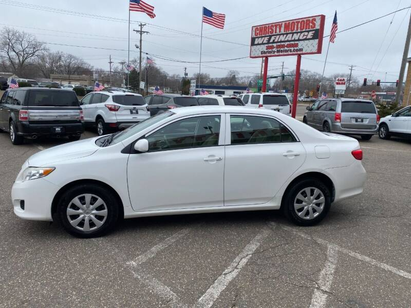 2010 Toyota Corolla for sale at Christy Motors in Crystal MN