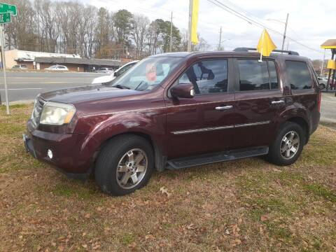 2011 Honda Pilot for sale at PIRATE AUTO SALES in Greenville NC
