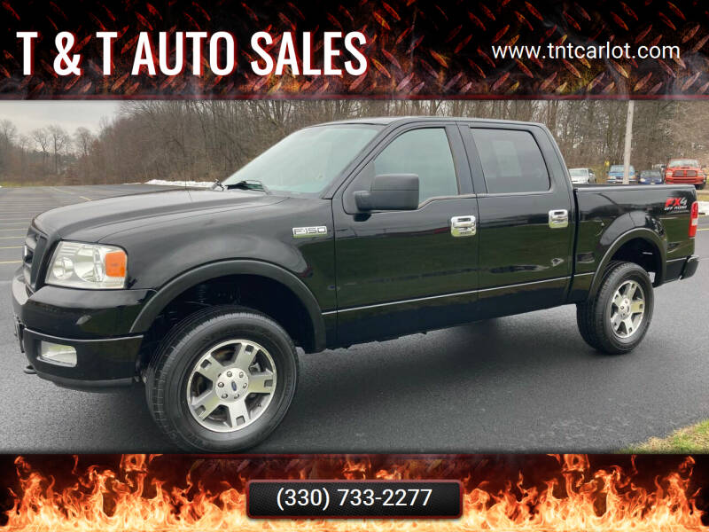 2005 Ford F-150 for sale at T & T Auto Sales in Akron OH
