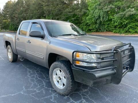2012 Chevrolet Silverado 1500 for sale at Legacy Motor Sales in Norcross GA