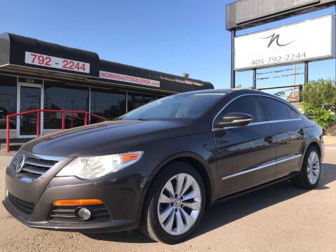 2010 Volkswagen CC for sale at NORRIS AUTO SALES in Oklahoma City OK
