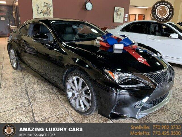 2015 Lexus RC 350 for sale at Amazing Luxury Cars in Snellville GA