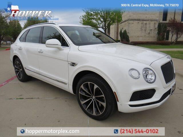 2020 Bentley Bentayga for sale in Mckinney, TX