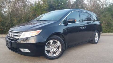 2012 Honda Odyssey for sale at Houston Auto Preowned in Houston TX