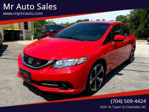 2015 Honda Civic for sale at Mr Auto Sales in Charlotte NC