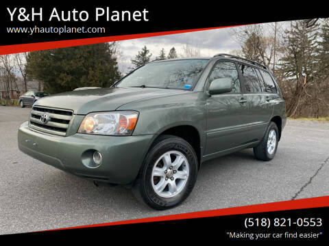 2007 Toyota Highlander for sale at Y&H Auto Planet in West Sand Lake NY