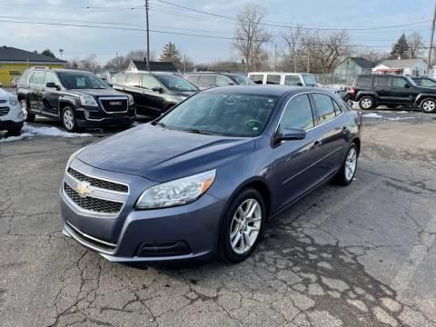 2013 Chevrolet Malibu for sale at Dean's Auto Sales in Flint MI