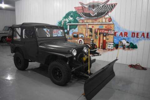 1957 Willys CJ-5 for sale at Classic Car Deals in Cadillac MI