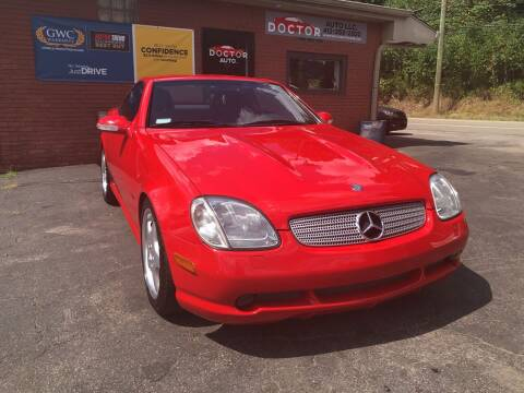 2001 Mercedes-Benz SLK for sale at Doctor Auto in Cecil PA