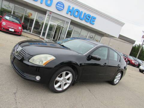 2004 Nissan Maxima for sale at Auto House Motors in Downers Grove IL