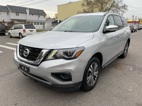2017 Nissan Pathfinder for sale at Kapos Auto, Inc. in Ridgewood, Queens NY