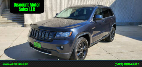 2012 Jeep Grand Cherokee for sale at Discount Motor Sales LLC in Wenatchee WA