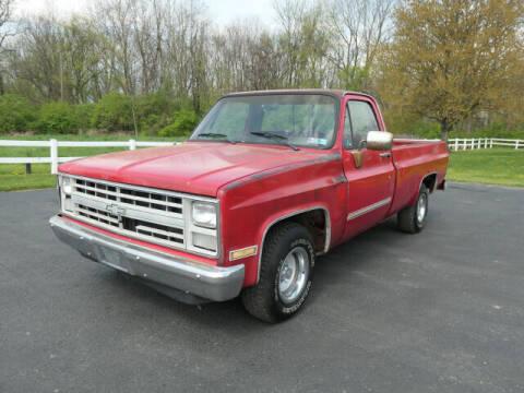 1987 Chevrolet R/V 10 Series for sale at Woodcrest Motors in Stevens PA