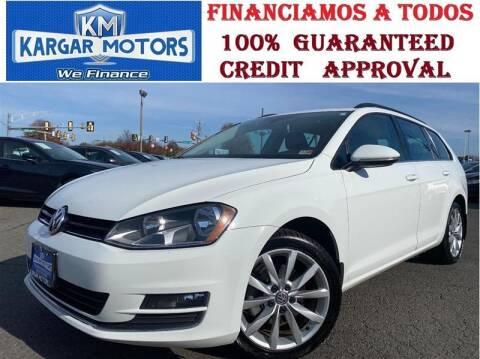 2017 Volkswagen Golf SportWagen for sale at Kargar Motors of Manassas in Manassas VA