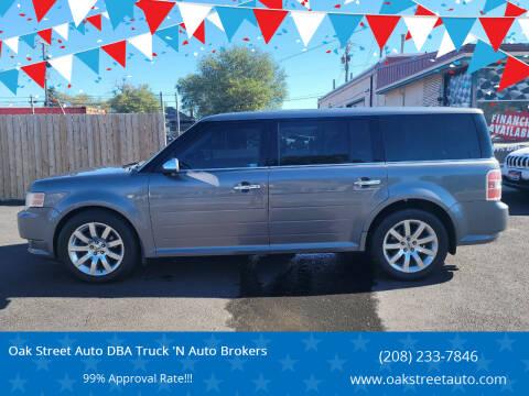 2009 Ford Flex for sale at Oak Street Auto DBA Truck 'N Auto Brokers in Pocatello ID