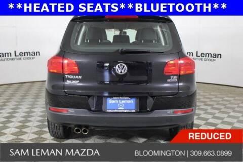 2016 Volkswagen Tiguan for sale at Sam Leman Mazda in Bloomington IL