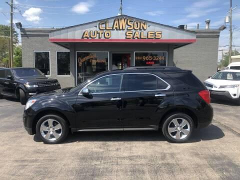 2015 Chevrolet Equinox for sale at Clawson Auto Sales in Clawson MI