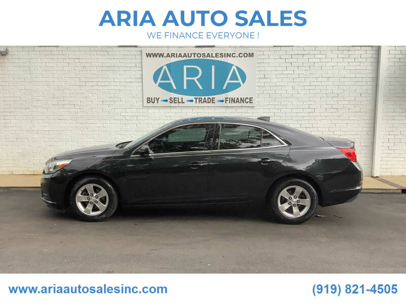 2015 Chevrolet Malibu for sale at ARIA  AUTO  SALES in Raleigh NC