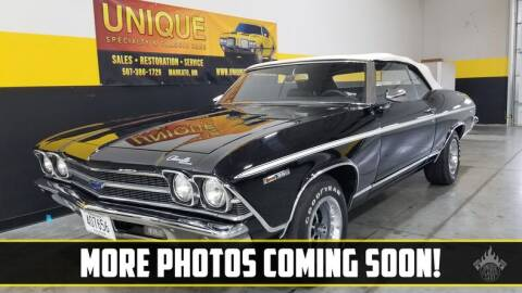 1969 Chevrolet Chevelle for sale at UNIQUE SPECIALTY & CLASSICS in Mankato MN