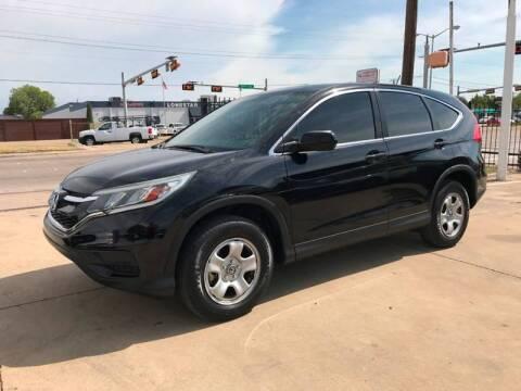 2015 Honda CR-V for sale at SP Enterprise Autos in Garland TX