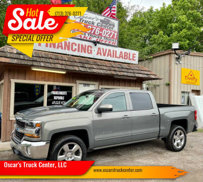 2017 Chevrolet Silverado 1500 for sale at Oscar's Truck Center, LLC in Houston TX