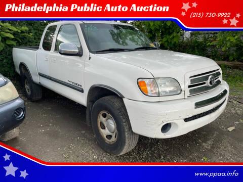 2003 Toyota Tundra for sale at Philadelphia Public Auto Auction in Philadelphia PA