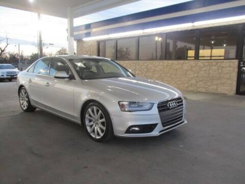 2013 Audi A4 for sale at CAR SOURCE OKC - CAR ONE in Oklahoma City OK