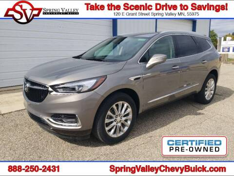 2018 Buick Enclave for sale at Spring Valley Chevrolet Buick in Spring Valley MN