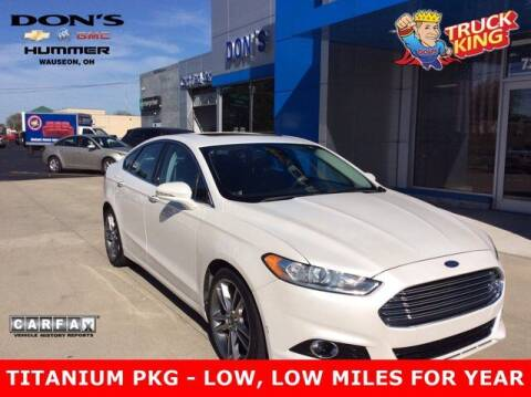 2013 Ford Fusion for sale at DON'S CHEVY, BUICK-GMC & CADILLAC in Wauseon OH