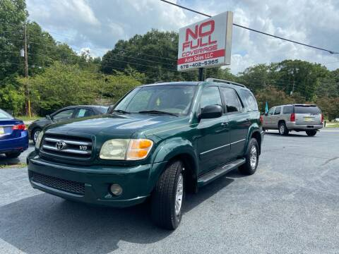 2004 Toyota Sequoia for sale at No Full Coverage Auto Sales in Austell GA