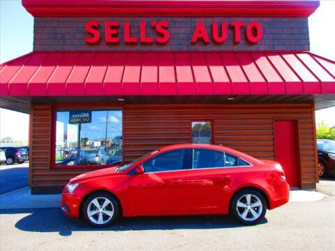 2014 Chevrolet Cruze for sale at Sells Auto INC in Saint Cloud MN