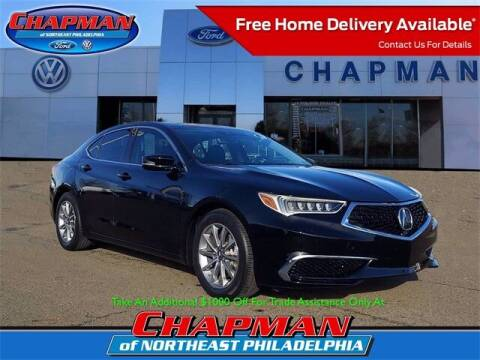 2018 Acura TLX for sale at CHAPMAN FORD NORTHEAST PHILADELPHIA in Philadelphia PA