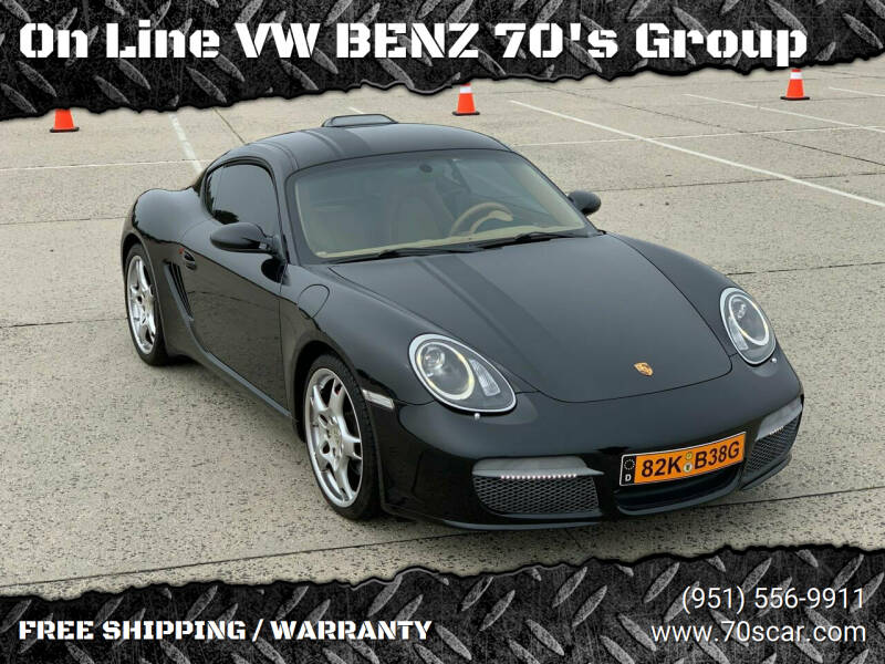 2008 Porsche Cayman for sale at On Line VW BENZ 70's Group in Warehouse CA