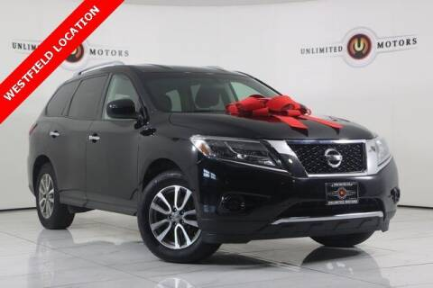 2014 Nissan Pathfinder for sale at INDY'S UNLIMITED MOTORS - UNLIMITED MOTORS in Westfield IN