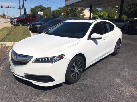 2015 Acura TLX for sale at Magic Motors Inc. in Snellville GA
