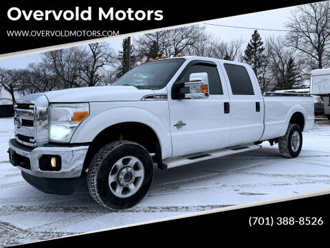 2013 Ford F-350 Super Duty for sale at Overvold Motors in Detriot Lakes MN